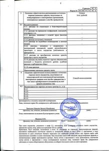 Отчеты за 2015 СРФСОО «СПОРТ АЛЬЯНС»