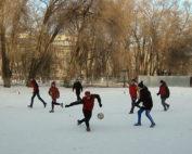 Совместное спортивное мероприятие «Новогодний футбол на каникулах» с Гимназией №34 (гСаратов) и МОУ
